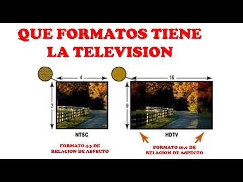 LA TELEVISION Y SUS FORMATOS DIFERENCIAS-CURSO DE TELEVISION POR CABLE
