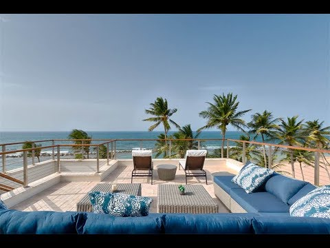 Beachfront Penthouse Sanctuary in Dorado Beach, Puerto Rico