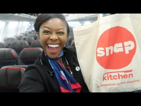 FLIGHT ATTENDANT LIFE | WHAT I ATE TODAY TRAVELING VEGAN