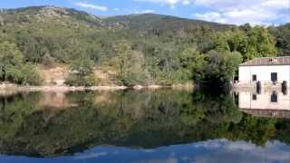 El mar.  Real Sitio de la Granja de San Ildefonso