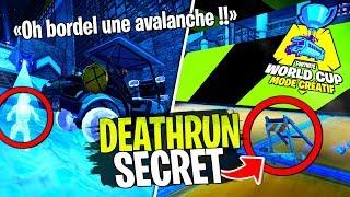 On test le Deathrun secret de la World Cup avec Doc Jazy et Dobby sur Fortnite Créatif !