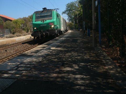 Railfanning at Juan les Pins 26/08/2016 TGV,TER,FRET,THELLO,