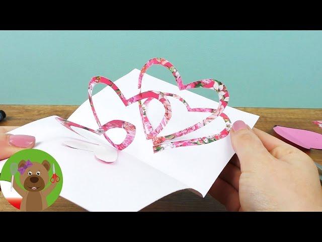 DIY Inspiration Challenge #98 | Pi?kna kartka 3D z sercem