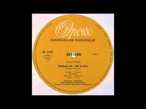 Haydn, Symphony No 100 Millitary, Bernhard Paumgartner