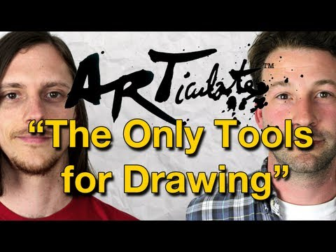 ARTiculate Episode 08 - The Only Drawing Tools You Need
