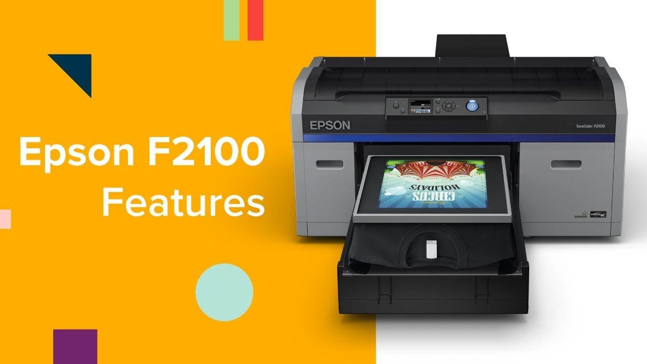 a1f2e147 Epson SureColor F2100 DTG Printer: Overview & Features. Coastal Business  Supplies