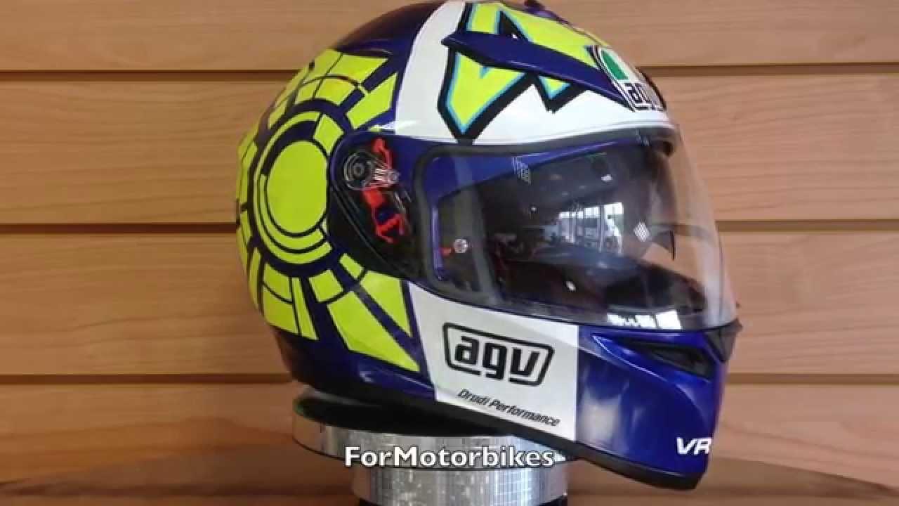 Agv K3 Sv Rossi Winter Test Agv Helmets Formotorbikes Youtube