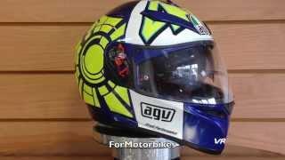 agv k3 sv rossi winter test agv helmets formotorbikes