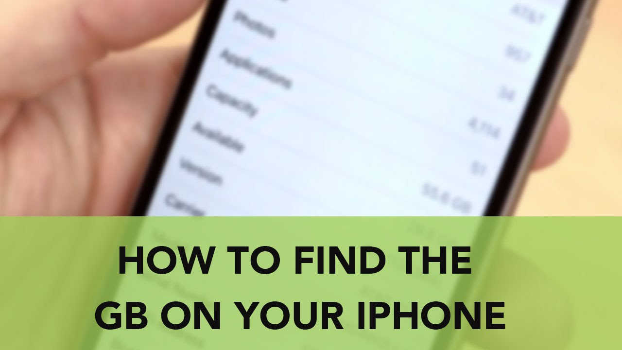 how do i find out what iphone i have how to find the gb on your iphone 5553