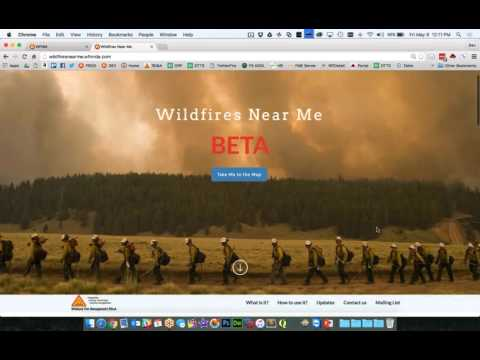 Wildfires Near Me beta Kickoff