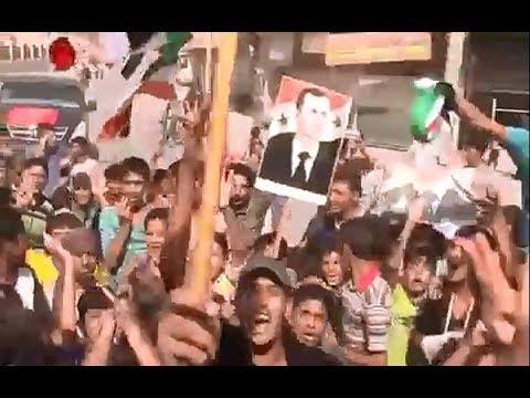 Celebration in Deir ez Zor