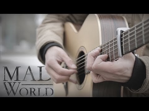Mad World - Gary Jules (Fingerstyle Guitar Cover By Albert Gyorfi)