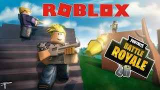 Fortnite Battle Royale (IN ROBLOX) w/Fans! (ALERTES LIVE SUB)