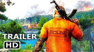 PS4 - Scum Trailer (2018) Multiplayer Open World Survival Game