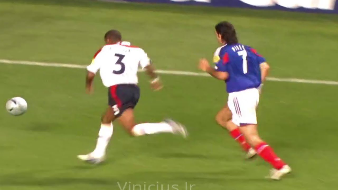 Robert Pires Magical Performance vs England 2004