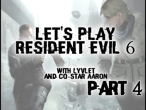 Let's play Resident Evil 6 - Part 4 (Sherry/Jake Campaign)