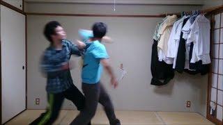 空手vsムエタイ 15 ソーク・クラブ(回転肘打ち)で吹き飛ぶ!!  正拳&ムエ拳