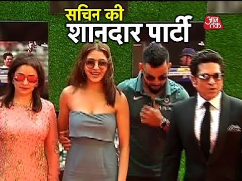 SRK, Anushka Sharma, Virat Kohli Spotted At Tendulkar's A Billion Dreams Premiere
