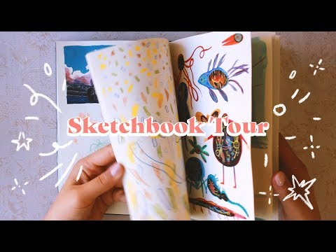 Sketchbook Tour (14 day challenge) ~