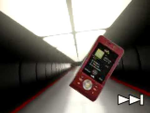 Demo tour for Sony Ericsson W910i....