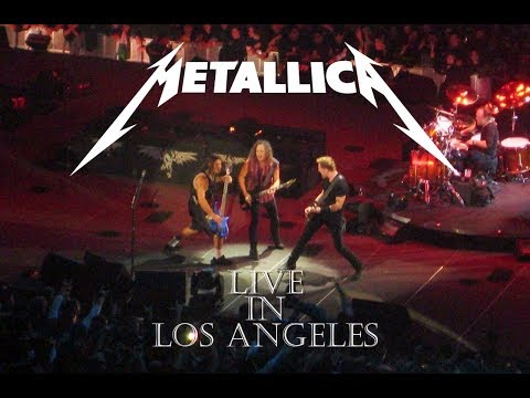 Metallica - Live In Los Angeles - The Forum  17.12.2008 Full Show