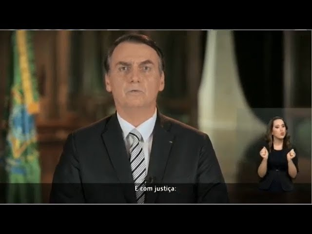 Pronunciamento do Presidente Jair Bolsonaro - 20/02/19
