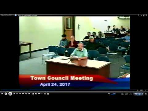 Maple Rd Rental Affects Town's Most Vulnerable Citizens,  Mansfield, CT 4-24-17