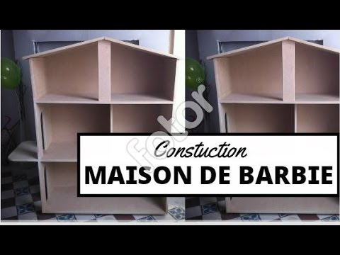 construction d 39 une maison barbie youtube. Black Bedroom Furniture Sets. Home Design Ideas