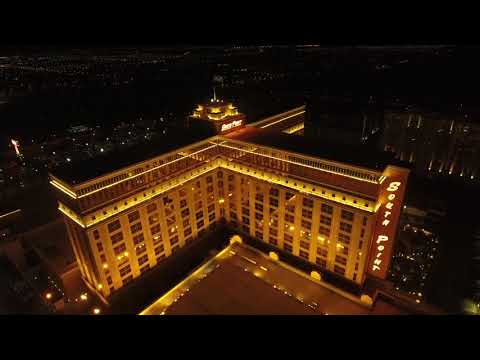 Las Vegas Strip By Air (2018) Almost all the Big Hotels + Golden Knights Arena & Bellagio Water Show