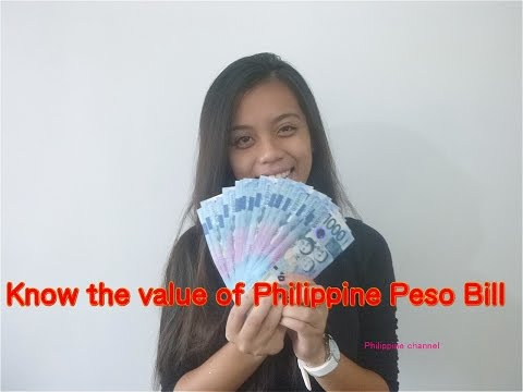 The thing you should know about the Philippine peso bills and what you can buy with it