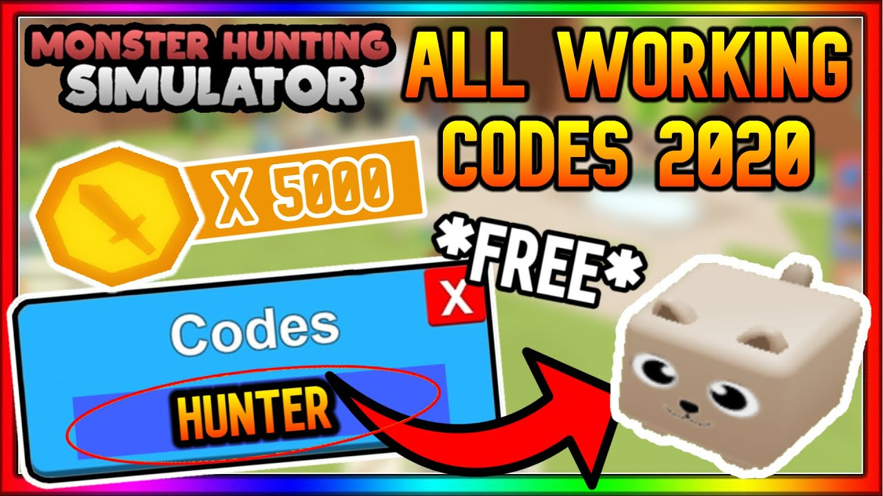 hunting simulator 2 codes roblox