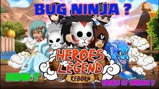How To Bug Ninja Donate In Ninja Heroes Heroes Legend Ninja Heroes Reborn Youtube