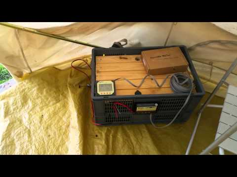 Off grid project UK - Introducing my bell tent