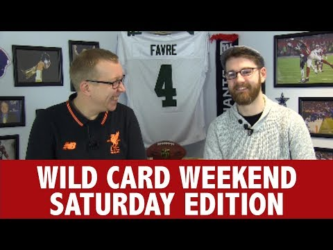 WILDCARD WEEKEND SATURDAY PREVIEW - THE PLAYOFFS PREVIEW SHOW