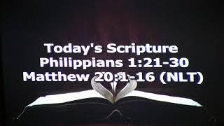 DUMC Sermon September 20, 2020