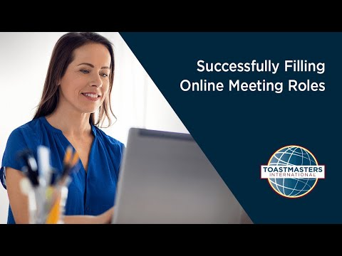 Successfully Filling Online Meeting Roles