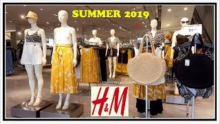 H&M New Ladies Summer Collection June 2019 I Shop with Me