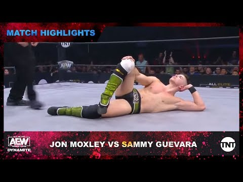 Sammy Guevara Gets Arrogant After Laying Jon Moxley Out Through The AEW Ring's Steel Steps