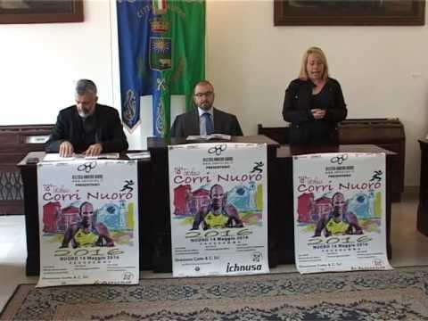 Conferenza Stampa CorriNuoro 2016 - Il servizio di Telesardegna