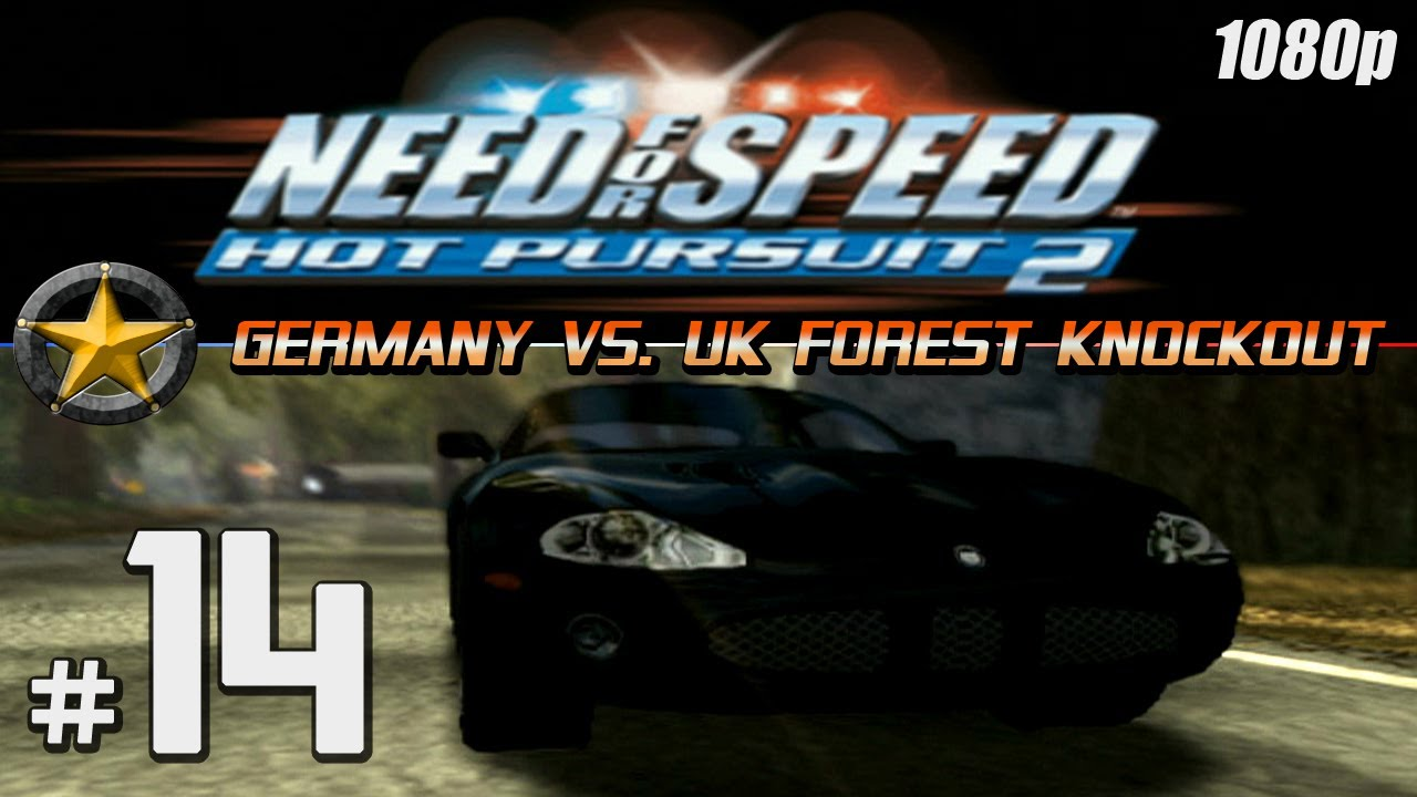 Nfs Hot Pursuit 2 1080p Ps2 Part 14 Germany Vs Uk Forest Knockout Youtube