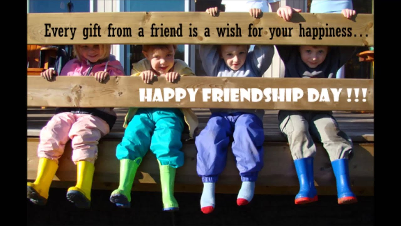Friendshipday messages youtube altavistaventures Images
