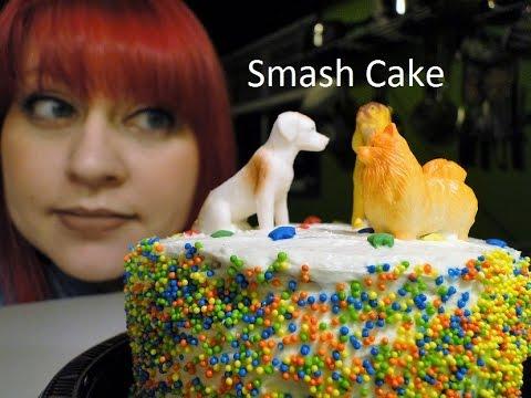 Jesa Makes: Smash Cake - Sugar Free 1st Birthday Cake