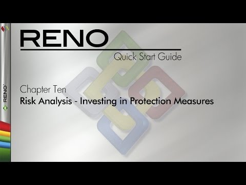 RENO 9 Quick Start Guide Chapter 10: Risk Analysis ‐ Investing in Protection Measures