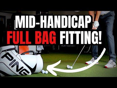 Mid Handicap - PING FULL BAG FITTING!