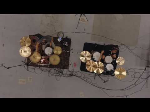Double drumming jam session @ Forum, Copenhagen
