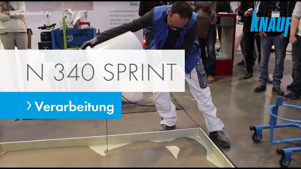 Turbo Verarbeitung von Knauf N 340 Sprint - YouTube MJ14