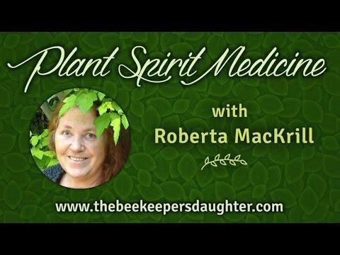 Plant Spirit Medicine with Roberta MacKrill, Nov  8, 2015
