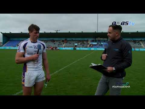 Kilmacud Crokes' Alex Considine speaks to DubsTV after Go Ahead Dublin Championship QF win