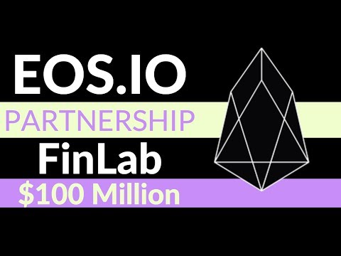 Block.One (EOS) Partners With FinLab VC | $100 Million Fund For EOS. IO Projects
