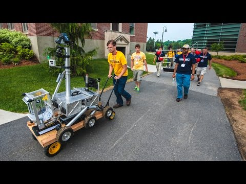 WVU Students Win $100,000 in NASA Robotics Challenge